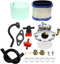 Carbhub 591925 Carburetor for Briggs and Stratton 698479 693518 698475 591925 Engine Motor Powered Chipper/Shredder Craftsman Garden Tiller with Air Filter Fuel Hose Replace 591925