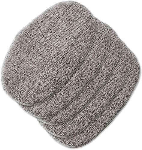 MRZJ 5 almohadillas de recambio para mopas de vapor Leifheit CleanTenso para limpieza profunda de los poros.