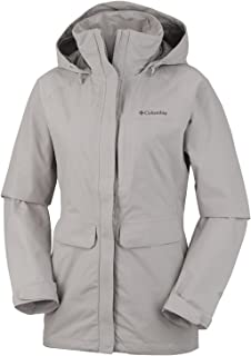 Columbia Women's Longer Miles Jacket S Flint Grey