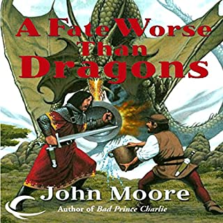 A Fate Worse Than Dragons audiobook cover art