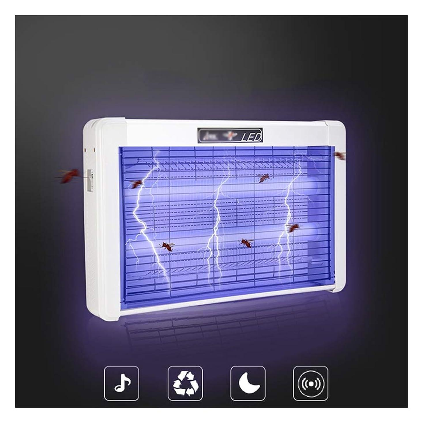 聞くヒュームビットZEMIN 蚊ランプ 電撃殺虫灯 誘虫灯 フライト ラップ 屋内 クリーン、 3サイズ (Size : 38CM-2W)