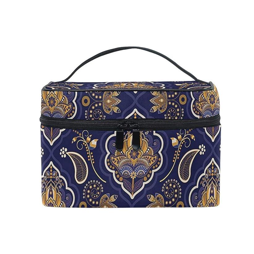 混合した似ているカイウス三郎の市場 幾何 女性の化粧ポーチ コスメケース 旅行 化粧品 収納 雑貨 小物入れ 出張用バック 超軽量 機能的 大容量