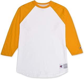 champion raglan sleeve baseball jersey