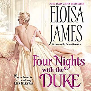 Four Nights with the Duke audiobook cover art