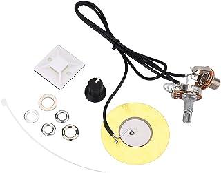 Alomejor Pickup Piezo 50mm Transductor Sensible Pastillas para Guitarra Mandolina Caja de Puros Guitarra Violín Ukulele Banjo