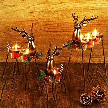 Best reindeer candle holder Reviews