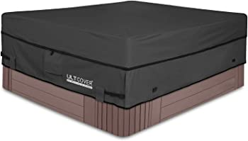 ULTCOVER Waterproof 600D Square Hot Tub Cover