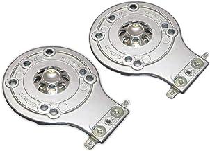 Springfield Speaker JBL 2412H Compatible Aftermarket Replacement Horn Diaphragm - 2 Pack - for JBL 2412, 2412H, 2412H-1, JRX, 100, 112, 115, Eon, MPro, Soundfactor, 2413, 2413H