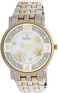 Sunex Dress Watch For Women Analog Stainless Steel - S6385TW