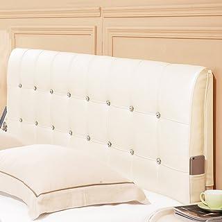 Barture-Kopfenden Tête De Lit Coussin Wedge Pillow Housses De Coussin Oreiller Couvre-lits Étui Souple Lit Double Accueil ...