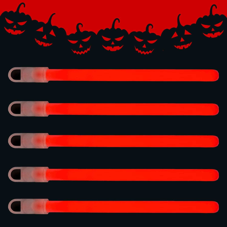 Glows in The Dark Chem Lights Kids Safe /& Non-Toxic Light Up Sticks Illuminating Luminescent Bulk Sticks Lumistick 6 Inch Standard Glow Sticks with Strings Aqua, 25 Glow Sticks