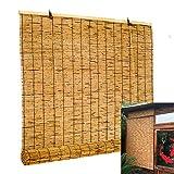 L-DREAM Tende in Bamboo da Esterno Tapparella, Tenda di bambù Oscurante, per Balcone, Auto, Giardini, Cuccia per Cani, Porta, Finestra, Facile da Hanging, Cucina Tende A Rullo
