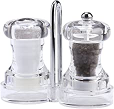 product image for Chef Specialties Capstan Pepper Mill & Salt Shaker Set, Clear