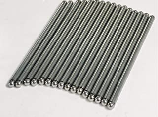 Elgin Industries (USA Made) Set of (16) Pushrods compatible with Chrysler 318 340 360 400 Small Block Dodge Plymouth (Stock replacement)