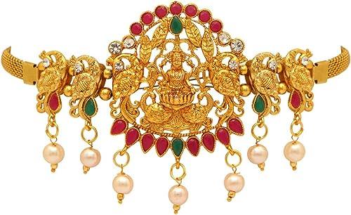 Jaipur Mart Accessory for Women (Golden) (BJB181MG)