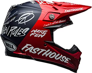 Bell Moto-9 Flex Helmet Fasthouse DID Day In The Dirt Red Navy (XX-Large)