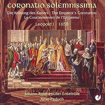 Choral Music - Schmelzer, J.H. / Bertali, A. / Caldara, A. (The Coronation of Emperor Leopold I)