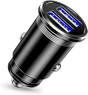 Raxnwell シガーソケット usb カーチャージャー急速充電 - 超小型/2ポート/24W/12V・30V車 3.1A iPhone/iPadその他Androi各種/IQOS対応