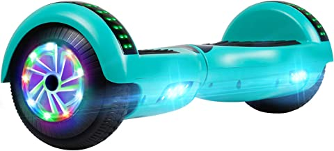 "UNI-SUN Hoverboard for Kids, Self Balancing Scooter 6.5"" Two-Wheel Self Balancing Hoverboards with Bluetooth and Lights"