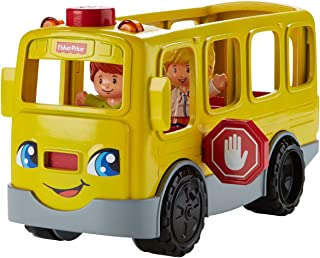 Fisher-Price Little People Sit with Me School Bus Vehicle