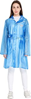 Zacharias Women's PVC Raincoat R-55 (Blue;Free Size)