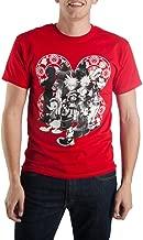 Disney Kingdom Hearts Character Men's Red Tee T-Shirt Shirt