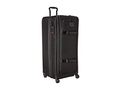 Tumi Alpha 3 Tall 4 Wheeled Duffel Packing Case (Black) Luggage