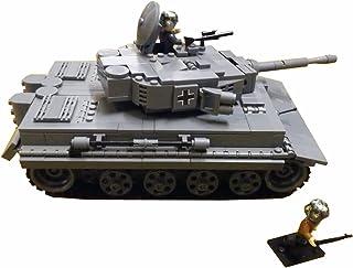 Modbrix 2462 - Tanque Tiger PzKpfw Vi AUSF. Incluye Figuras de Soldados WW2.