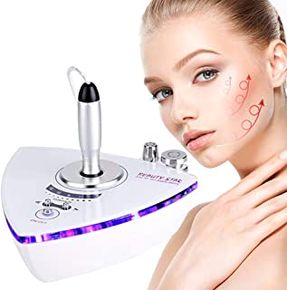 RF Radio Frequency Facial Machine, Beauty Star Home Use Portable Facial Machine for Skin Care