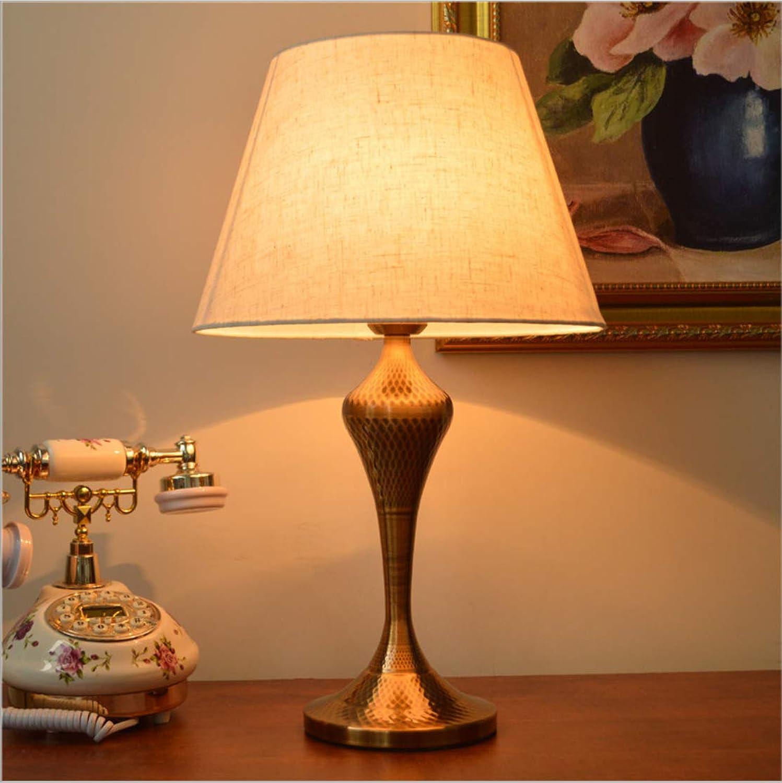 Schlafzimmer Nachttischlampe nach Hause Europische einfache moderne warme Tischlampe 52cm hoch