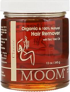 Moom Organic Hair Removal with Tea Tree Refill Jar - 12 oz- Pack of 1