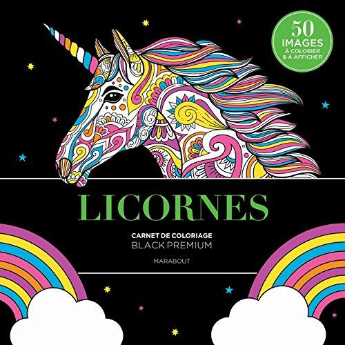 Black premium Licornes (Coloriages, Band 31610)