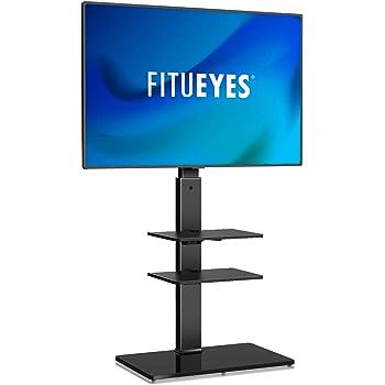 Soporte de Suelo con 3 Estantes,Giratorio y Altura Ajustablepara TV LCD LED OLED Plasma Plano 19-42 Pulgadas: Amazon.es: Electrónica