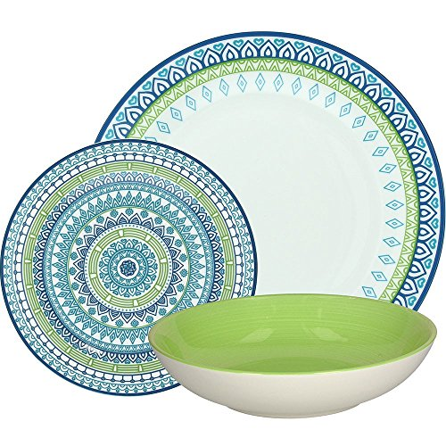 Tognana OM070185456 Servizio tavola 18 Pezzi, Porcellana
