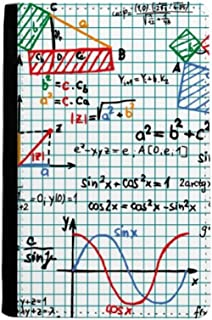 Trigonometric Function Mathematical Formulas Passport Holder Notecase Burse Wallet Cover Card Purse