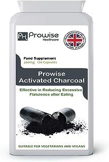 comprar comparacion Carbón activado 300 mg 120 cápsulas - Fabricado en el Reino Unido | Estándares GMP de Prowise Healthcare