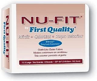 NU-Fit Adult Brief X-Large, 59