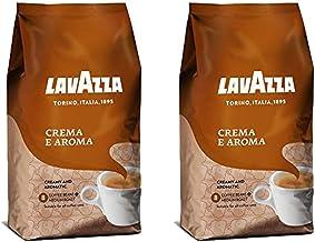 Lavazza Crema e Aroma Whole Bean Coffee Blend, Medium Roast, 2.2-Pound Bag (Pack of 2)