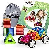 little rowdy® magnetische Bausteine Starter-Set 49 Teile - Magnetspielzeug ab 3 Jahre für Jungen und Mädchen - Geschenk für Kinder