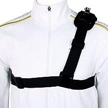 Andoer Single Shoulder Strap Mount Chest Harness Belt Adapter for GoPro Hero Camera