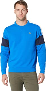 Lacoste 男式运动半花式运动衫 带撞色过肩