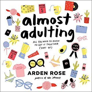 Almost Adulting audiobook cover art