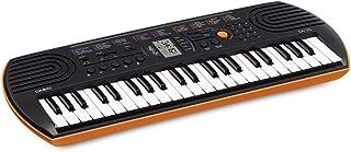 Casio SA-76 Musical Mini Keyboard with Free Adaptor for Kids