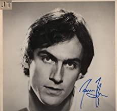 JAMES TAYLOR SIGNED AUTOGRAPH RECORD, ALBUM, VINYL - JT - LEGENDARY FOLK COUNTRY ROCK SINGER SONGWRITER - ROCK AND ROLL HALL OF FAME - CARLY SIMON - SWEET BABY JAMES, MUD SLIDE SLIM AND THE BLUE HORIZON, ONE MAN DOG, WALKING MAN, GORILLA, IN THE POCKET, FLAG, DAD LOVES HIS WORK, NEW MOON SHINE, HOURGLASS, OCTOBER ROAD, A CHRISTMAS ALBUM, COVERS, BEFORE THIS WORLD, AMERICAN STANDARD, NEVER DIE YOUNG, THAT'S WHY I'M HERE