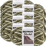 Bernat Gathering Moss, Blanket Big Ball Yarn, Multipack of 8, 8 Pack