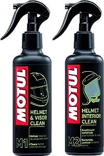 Trenzfest Motul M1 Helmet and Visor Cleaner (250 ml) and Motul M2 Helmet Interior Cleaner (250 ml)