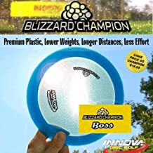 Blizzard Champion Boss 130 to 139 Disc Golf Driver (disc colors vary)