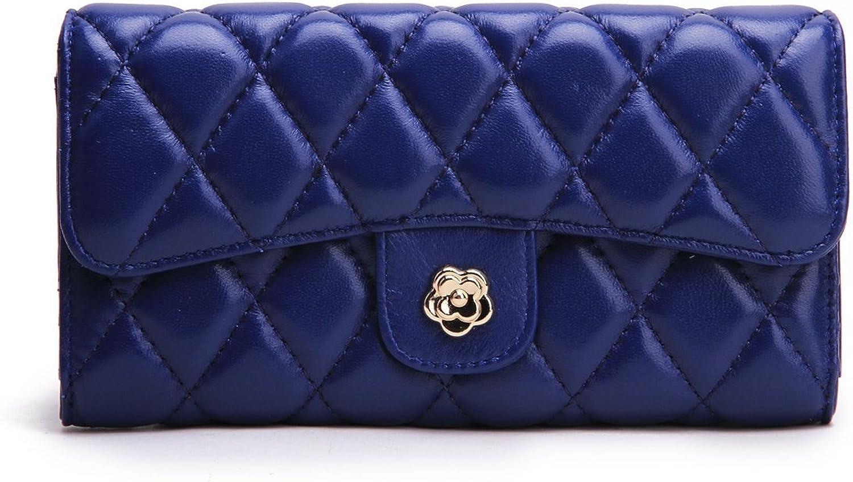 Borgasets Women's Genuine Leather Wallet