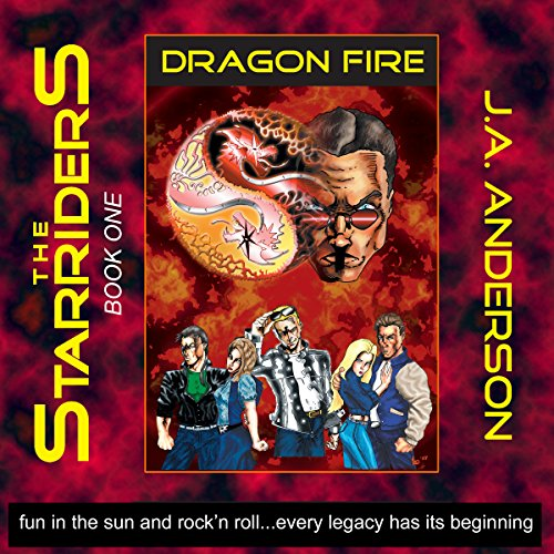 Dragon Fire audiobook cover art