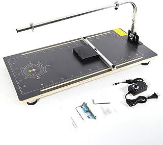 Cortadora eléctrica de alambre caliente de poliestireno con ajuste de ángulo